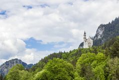 Schwangau, château de l'Allemagne - du Neuschwanstein photos stock