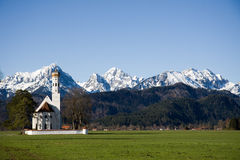 Schwangau church Royalty Free Stock Image
