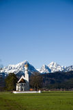 Schwangau church Stock Photography
