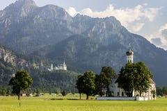 Schwangau, Duitsland royalty-vrije stock afbeeldingen