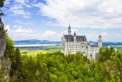 Schwangau, Germany -Neuschwanstein Castle. Schwangau, Germany - 05/12/2018: Neuschwanstein Castle Royalty Free Stock Photo