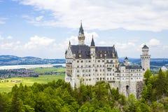 Schwangau, Germany -Neuschwanstein Castle. Schwangau, Germany - 05/12/2018: Neuschwanstein Castle Royalty Free Stock Images