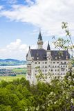 Schwangau, Germany -Neuschwanstein Castle. Schwangau, Germany - 05/12/2018: Neuschwanstein Castle Stock Image