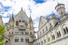 Schwangau, Germany -Neuschwanstein Castle. Schwangau, Germany - 05/12/2018: Neuschwanstein Castle Royalty Free Stock Image