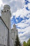 Schwangau, Germany -Neuschwanstein Castle. Schwangau, Germany - 05/12/2018: Neuschwanstein Castle Stock Photo