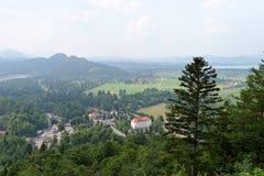 Schwangau im Bayern, Deutschland Lizenzfreie Stockfotos