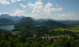 Schwangau Tyskland Fotografering för Bildbyråer