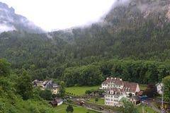 Schwangau village. In the valley near Neuschwanstein Castle Royalty Free Stock Photography