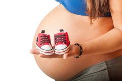 schwanger Lizenzfreie Stockfotos