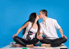 Schwanger Muttergesellschaft-in der Erwartung des Kindes Lizenzfreie Stockfotografie