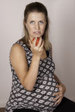 Schwangere Diät Stockbilder