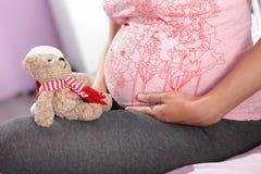 Schwangere Frau. Lizenzfreie Stockbilder