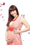 Schwangere Frau Stockfotos