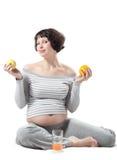 Schwangere Frau Stockbilder