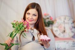 Schwangere Frau Lizenzfreies Stockbild