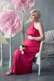 Schwangere Frau Lizenzfreies Stockfoto