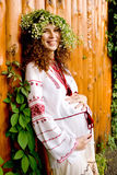 Schwangere Frau der Junge lizenzfreie stockfotografie
