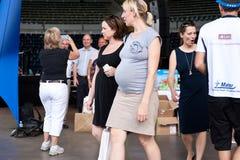 Schwangere Frauen Stockfotografie