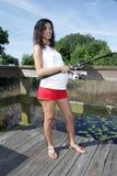Schwangere Frauen-Fischen (6) Lizenzfreies Stockfoto