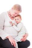 Schwangere Mutter lizenzfreies stockfoto