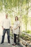 Schwangere Paare Lizenzfreie Stockfotografie