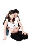 Schwangere Paare Lizenzfreies Stockfoto