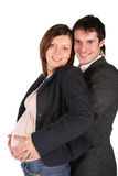 Schwangere Paare Lizenzfreie Stockbilder
