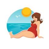 Schwangerer Sommer Lizenzfreie Stockbilder