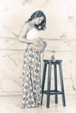 Schwangeres Mädchen Lizenzfreies Stockfoto