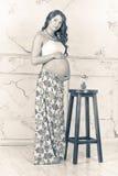 Schwangeres Mädchen Stockbild