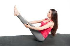 Schwangeres Training stockbilder
