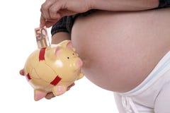 Schwangerschaft stockfotografie