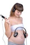 Schwangerschaft Stockbild