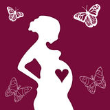 Schwangerschaft Lizenzfreie Stockbilder