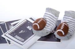 Schwangerschaft und getragen Lizenzfreie Stockfotografie