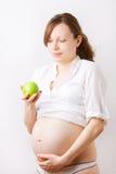 Schwangerschaftnahrung Stockbilder