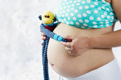 Schwangerschaftsmutterschaft Stockfoto