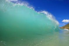 Schwankende Welle Stockfoto
