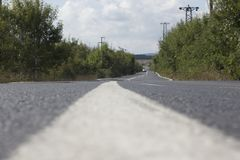 Schwankung der Straße Lizenzfreies Stockbild
