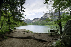 Schwansee lake in German Alps Stock Image