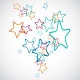 Schwarm der Sterne Lizenzfreie Abbildung