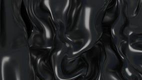 Schwarz-Harz der Illustrations-3D Stockbilder