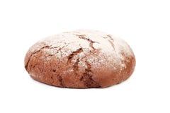 Schwarzbrot wischte das Mehl ab Lizenzfreies Stockbild