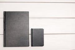 Schwarze Bücher Lizenzfreie Stockfotos