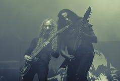 Schwarze Band konzerts 2016 Abbath Livemetall Lizenzfreie Stockbilder