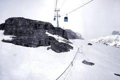 Schwarze Berge Stockfotografie