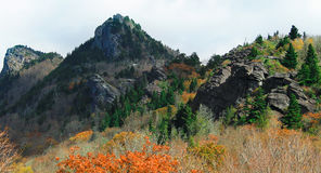 Schwarze Bergspitzen in NC Lizenzfreie Stockbilder