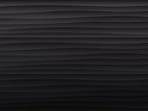 schwarze Beschaffenheit Wellenförmiger Hintergrund Stockfoto
