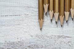Schwarze Bleistifte Stockbilder