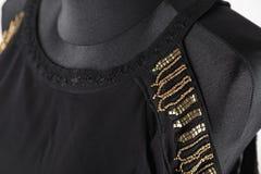 Schwarze Blusennahaufnahme lizenzfreie stockbilder